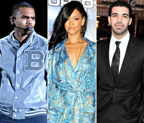 Chris, Rihanna, Drake