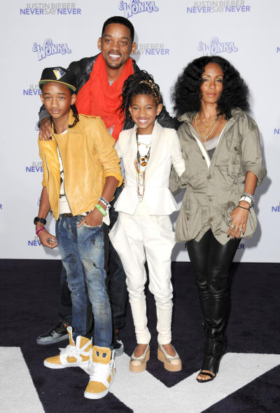 Will, Jada and Family