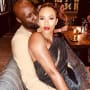 Lamar odom and his fiancee