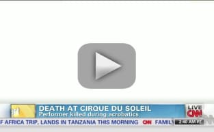 Performer Dies During Cirque de Soleil Performance