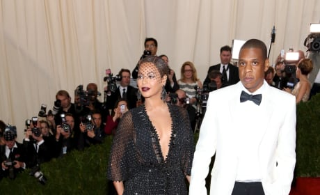 Beyonce and Jay Z at MET Gala