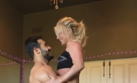Britney Spears: Exercising Herself to Death to Please Sam Asghari?
