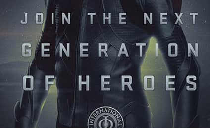 Ender's Game Propaganda Poster: Dropped!