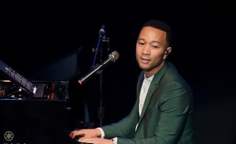 John Legend at the Piano