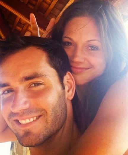 Desiree Hartsock With Chris Siegfried