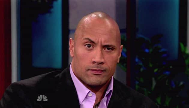 Dwayne Johnson Eyebrow