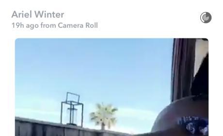 Ariel Winter twerking pic