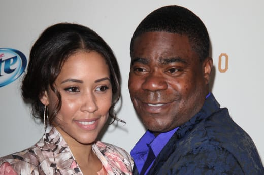 tracy morgan marries megan wollover the hollywood gossip. Black Bedroom Furniture Sets. Home Design Ideas