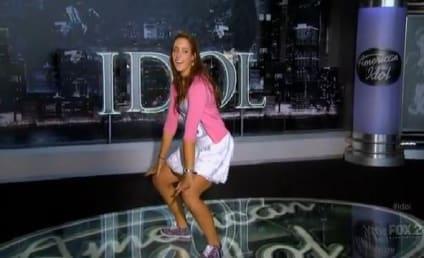 Ali Shields Raps, Kisses, Dances on American Idol