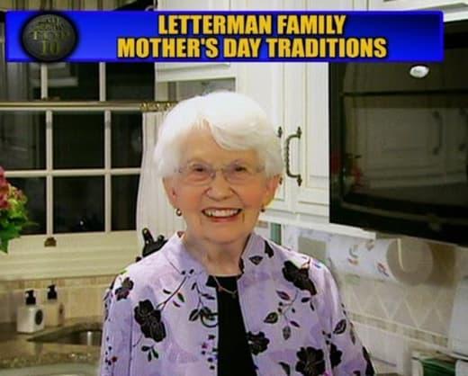 David Letterman's Mom