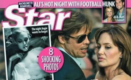 Angelina Jolie Drug Photos: Will They Drive Brad Pitt Away?!