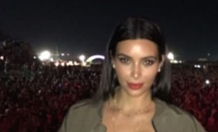 Kim Kardashian at Bonnaroo: Look at My Boobs!!!