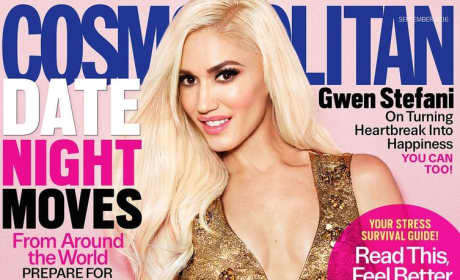 Gwen Stefani Cosmo Cover