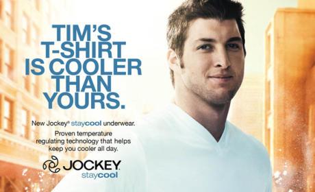 Tim Tebow Jockey Ad