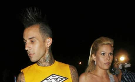 Travis Barker and Shanna Moakler Picture