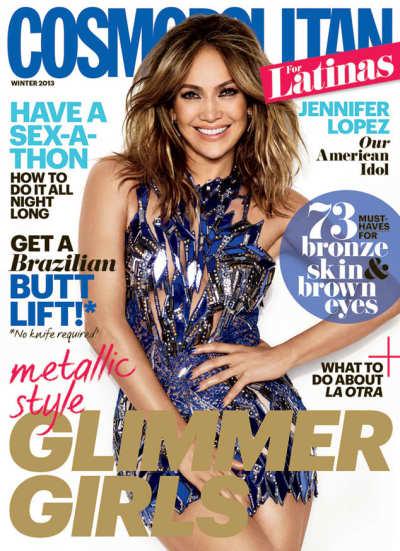 Jennifer Lopez Cosmo Picture