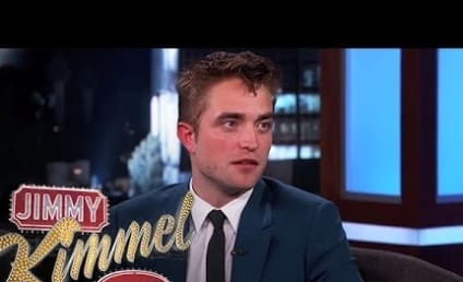 Robert Pattinson Talks Heavy Saliva, Homelessness on Jimmy Kimmel Live