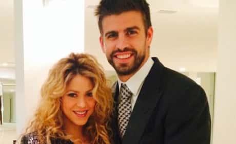 Gerard Piqué and Shakira Pic