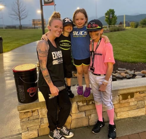 Maci Bookout With Her Kids