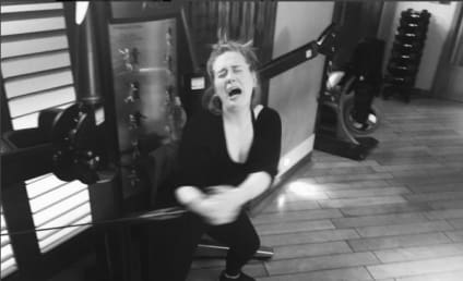 Adele's Hilarious Instagram Pic: Working Out Sucks!