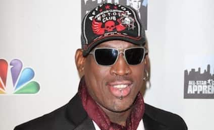 Dennis Rodman: En Route to the Vatican to Meet the New Pope!