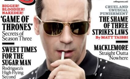 Jon Hamm in Rolling Stone: Enough About My Penis!