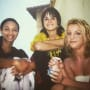 Britney Spears Crossroads Throwback Photo