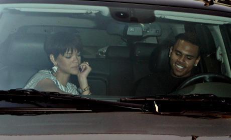 Chris Brown, Rihanna Pic