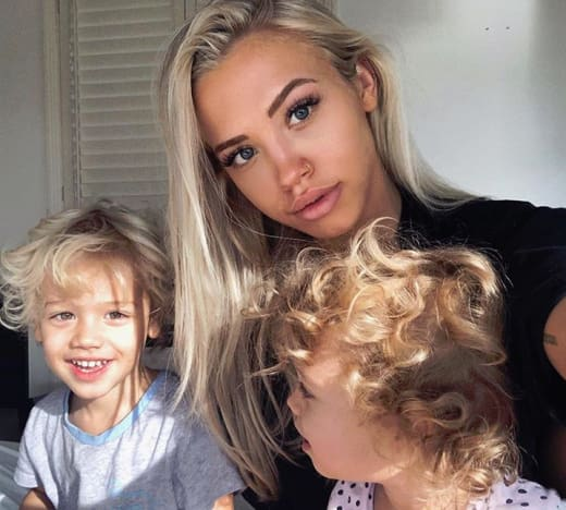 Tammy Hembrow and Her Children