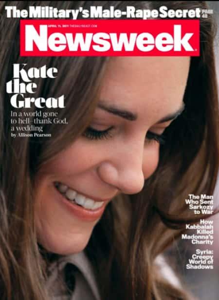Kate Middleton Newsweek Cover