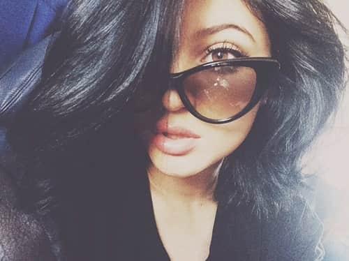 A Kylie Selfie