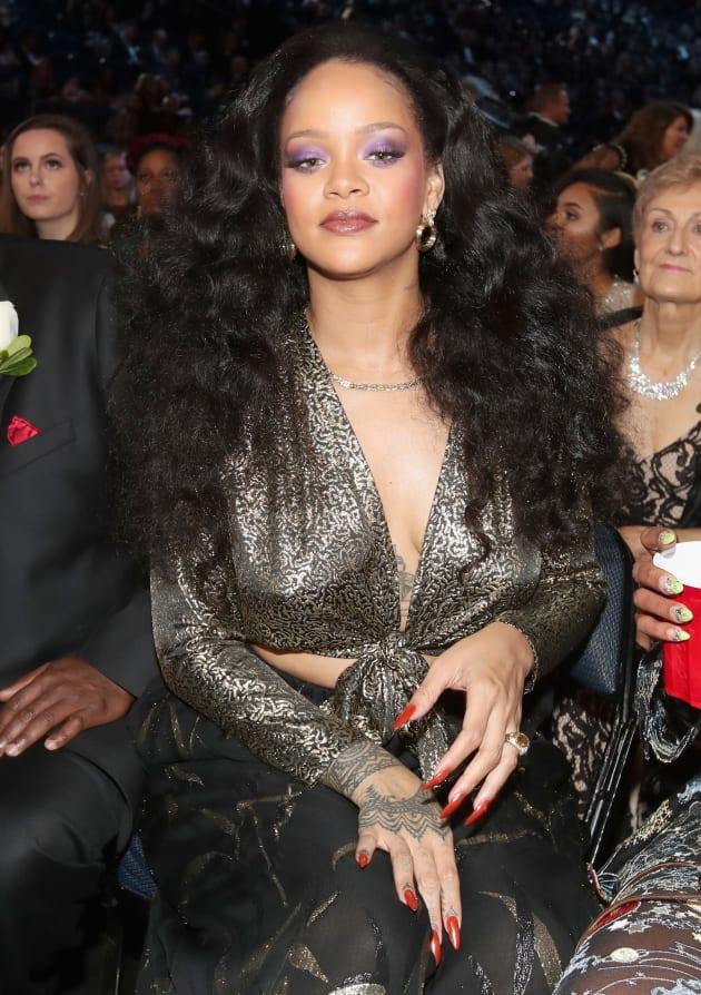 Rihanna at 2018 Grammys