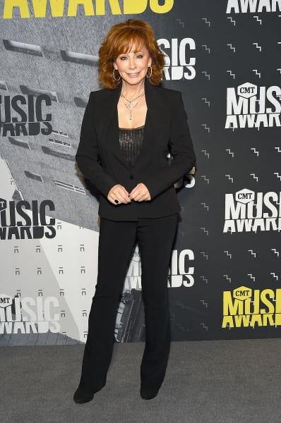Reba McEntire at the CMTs
