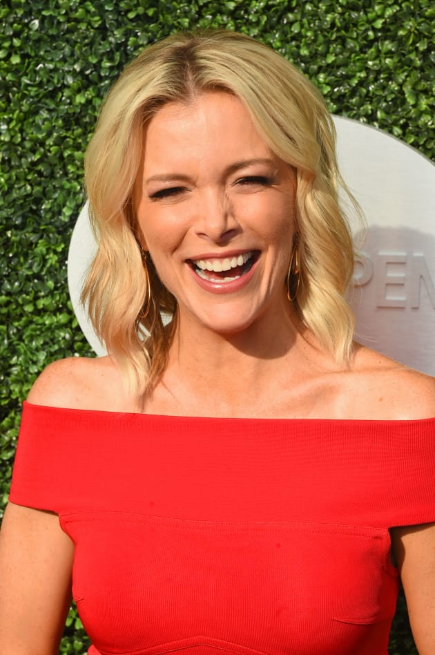 Megyn Kelly in Red