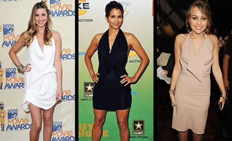 Who wore it best, Whitney, Halle or Miley?