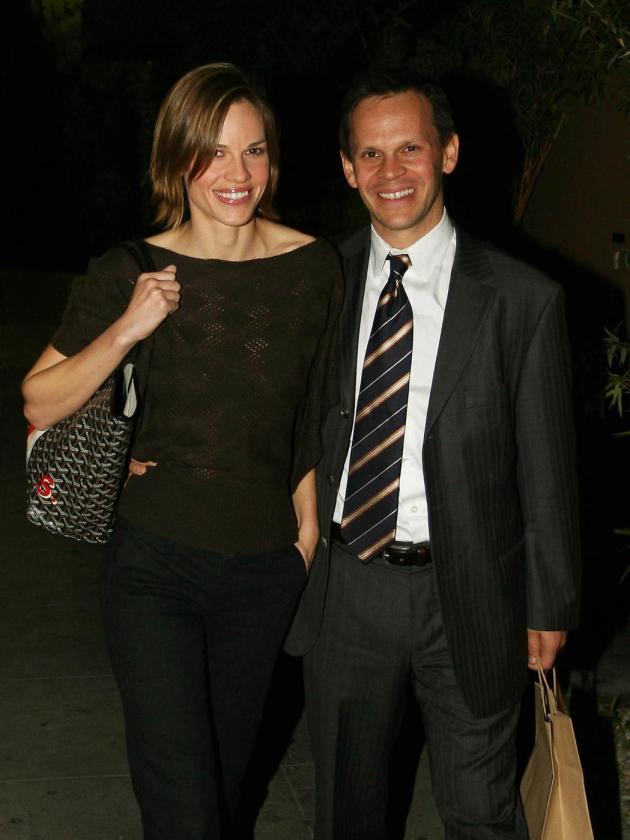 Hilary Swank and John Campisi