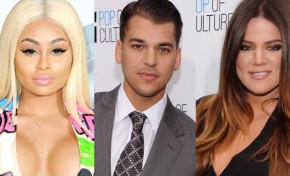 Khloe Kardashian Confronts Rob Kardashian & Blac Chyna: Get the F--K Outta My House!