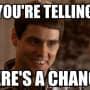 Jim Carrey Chance Meme Photo