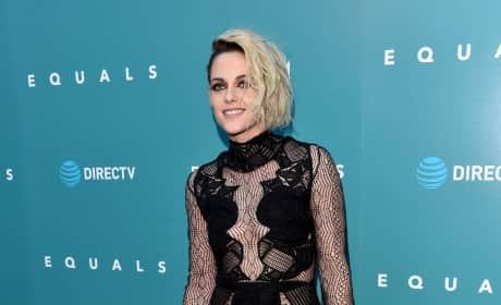 Kristen Stewart: See-Through Dress Photo