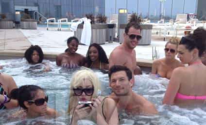 THG Caption Contest: Amanda Bynes Goes For a Swim