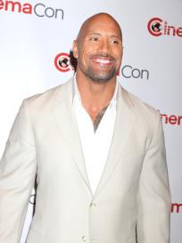 Dwayne Johnson, Shirtless