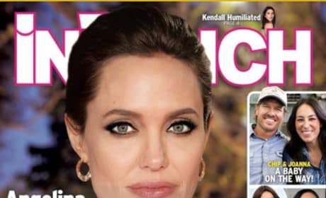Angelina Jolie Marriage Cover