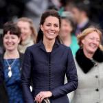 Kate Middleton, Blue Dress