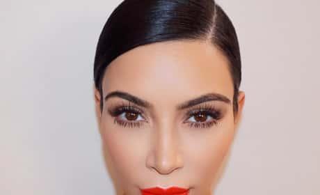 Kim Kardashian Looks Fake