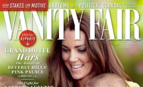 Kate Middleton, Prince George Vanity Fair Cover