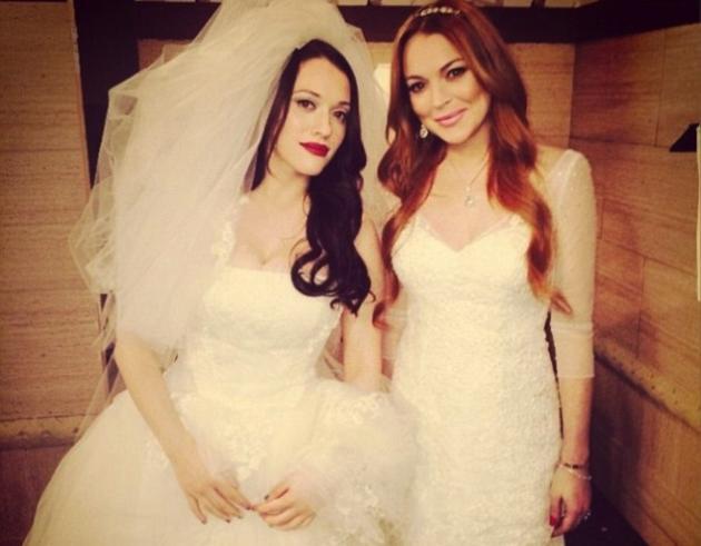 Lindsay Lohan, Kat Dennings