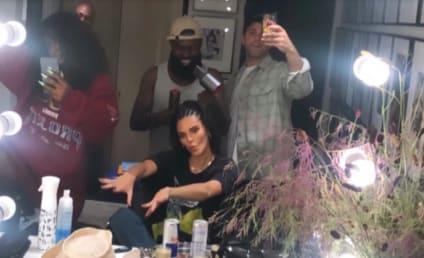 的Kendall Jenner岩石Cornrows再次猛烈抨击获取Twitter上