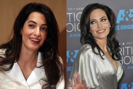 Amal and Angelina