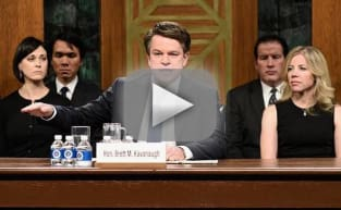 Matt Damon Opens SNL as Brett Kavanaugh, Leaves Us in Tears