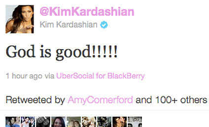 Kim Kardashian on Wedding: God is Good!